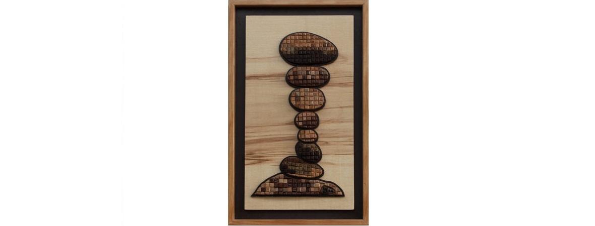 Équilibre - Marqueterie 3D